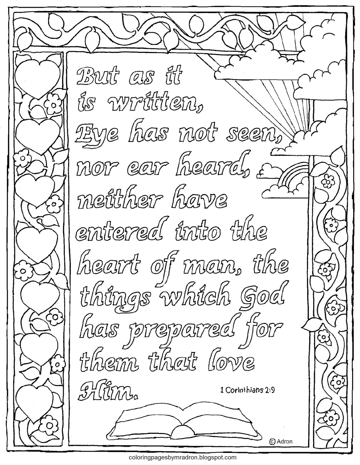 printable 1 corinthians 12 coloring pages coloring pages for kids by mr adron 1 corinithians 154 printable pages 1 corinthians coloring 12