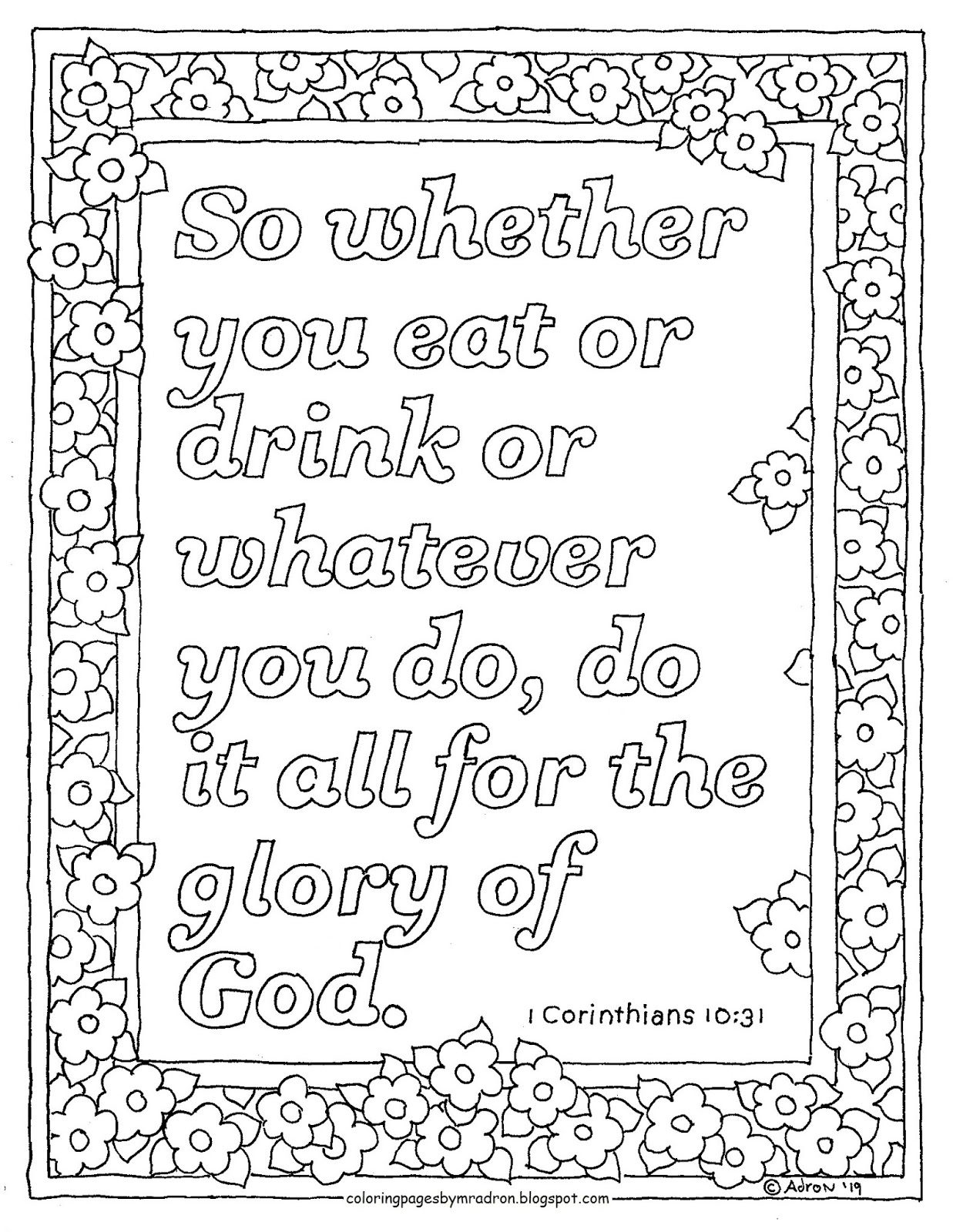 printable 1 corinthians 12 coloring pages coloring pages for kids by mr adron 1 corinthians 1613 pages coloring 12 1 corinthians printable