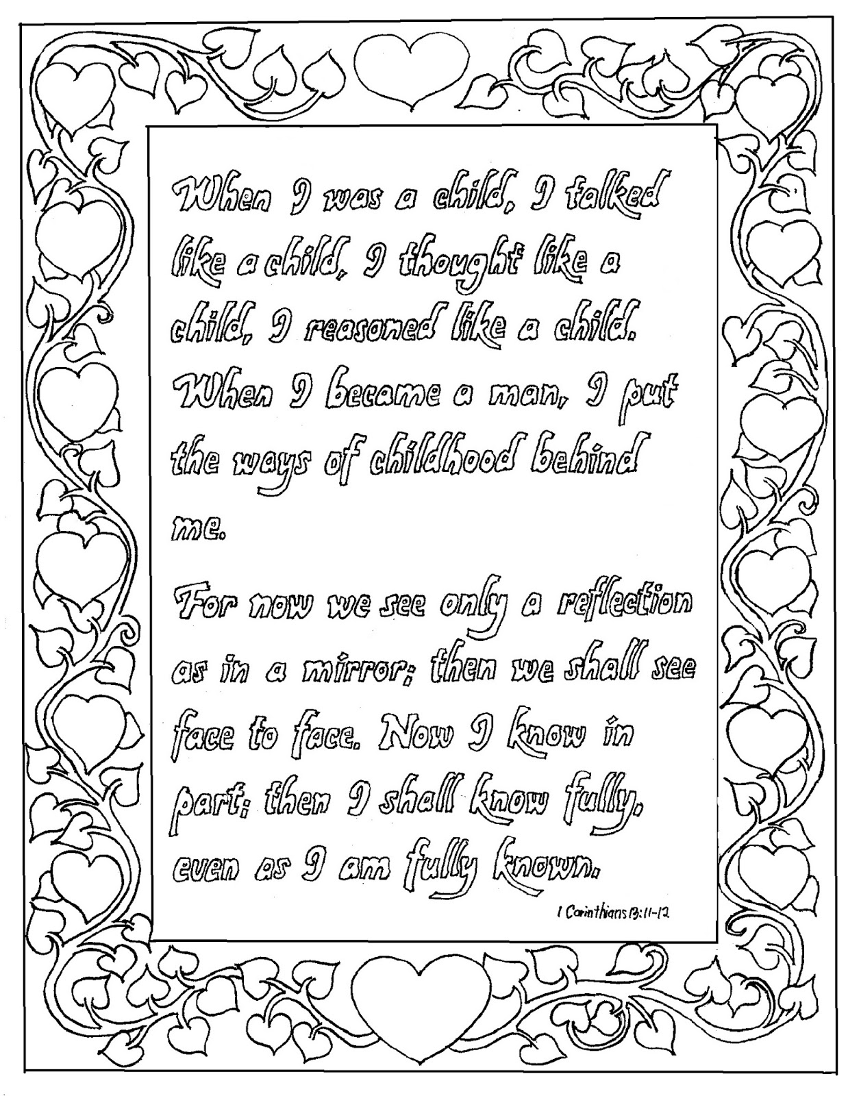 printable 1 corinthians 12 coloring pages coloring pages for kids by mr adron printable my grace corinthians 12 coloring pages 1 printable