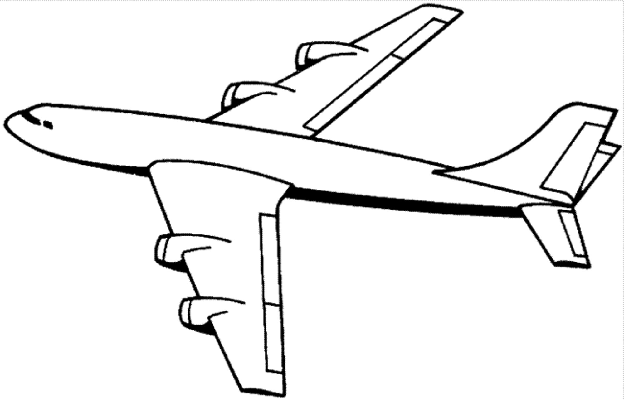 printable airplane coloring pages airplane coloring pages free printable bw pictures printable pages coloring airplane