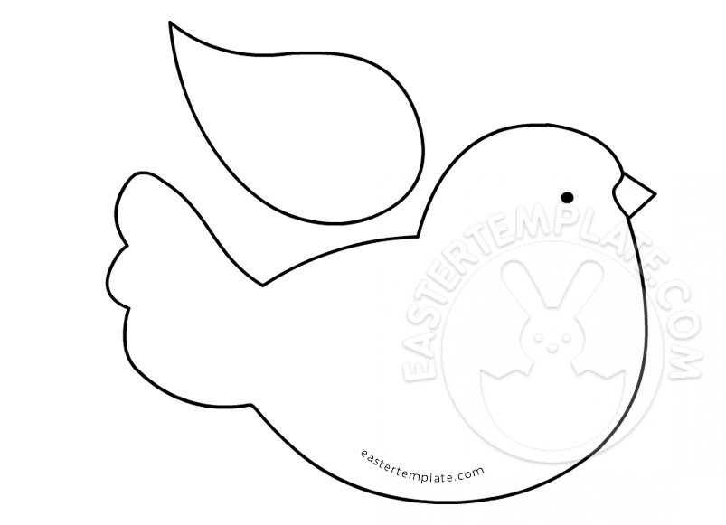 printable bird patterns 6 best images of printable bird pattern template bird bird printable patterns