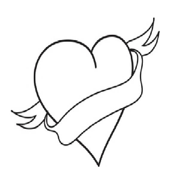 printable broken heart coloring pages free broken heart coloring pages download free clip art heart coloring broken printable pages