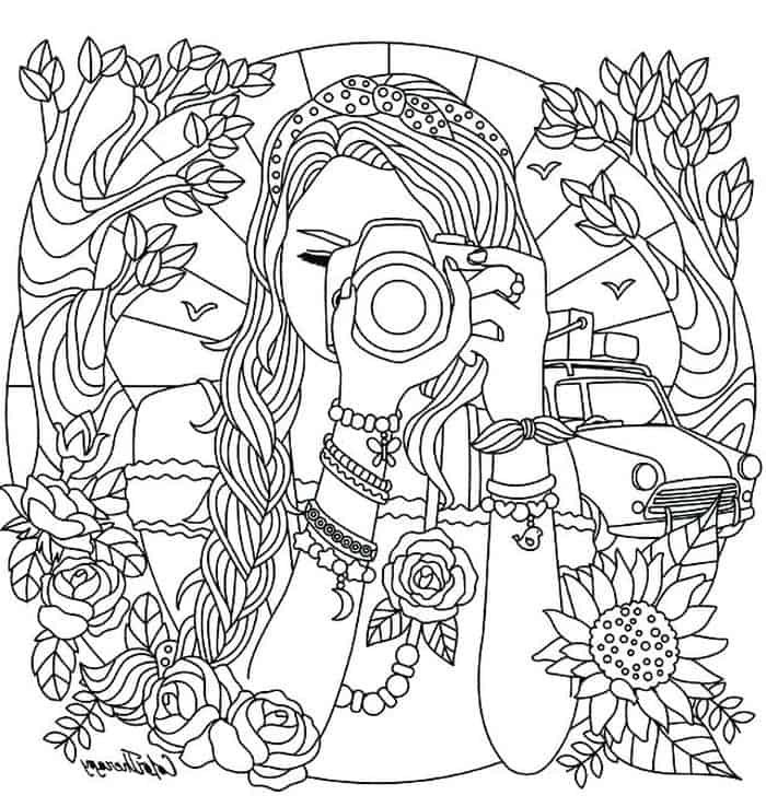 printable coloring pages for teenagers printable coloring pages for teen girls at getcolorings teenagers printable coloring for pages