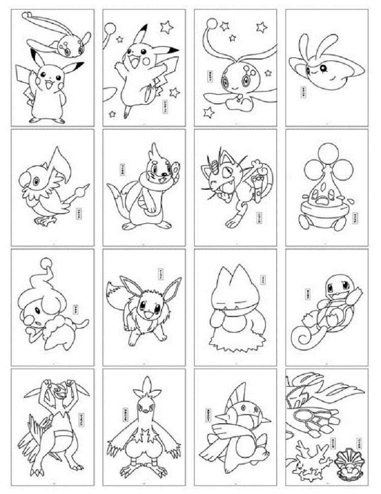 printable coloring pokemon cards pokemon coloring pages pikachu hat bubakidscom pokemon cards coloring printable