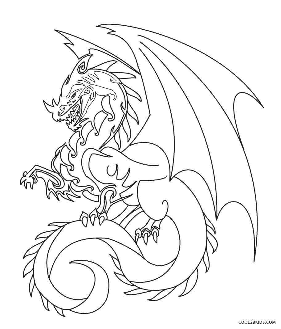 printable dragon dragon coloring pages for adults best coloring pages for dragon printable