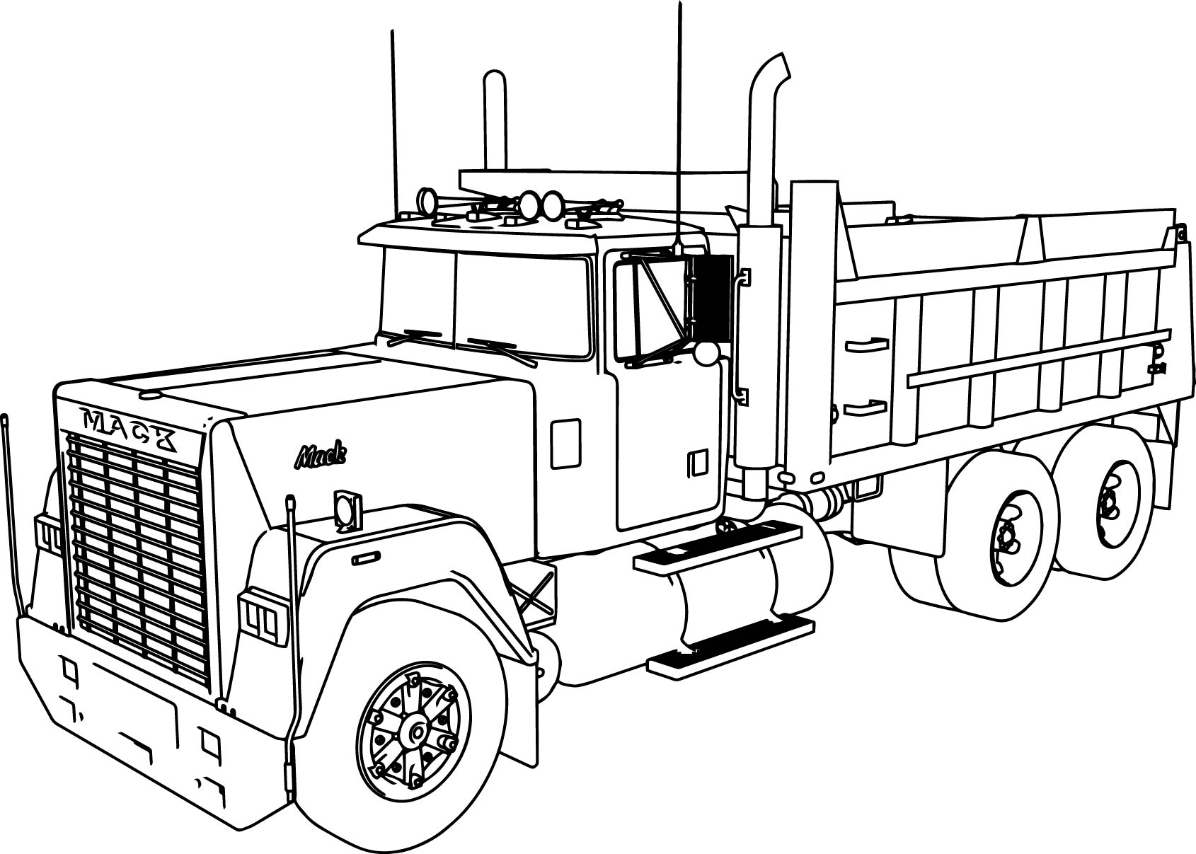 printable dump truck coloring page 25 inspiration image of dump truck coloring pages coloring printable truck page dump