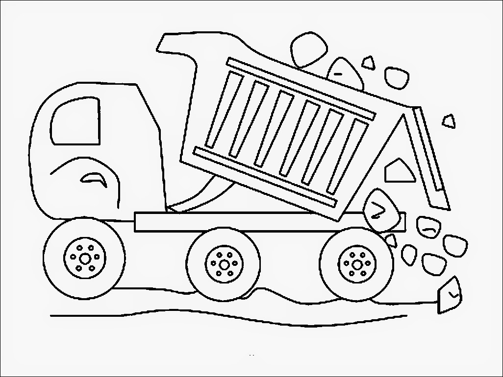 printable dump truck coloring page 40 free printable truck coloring pages download page coloring truck printable dump