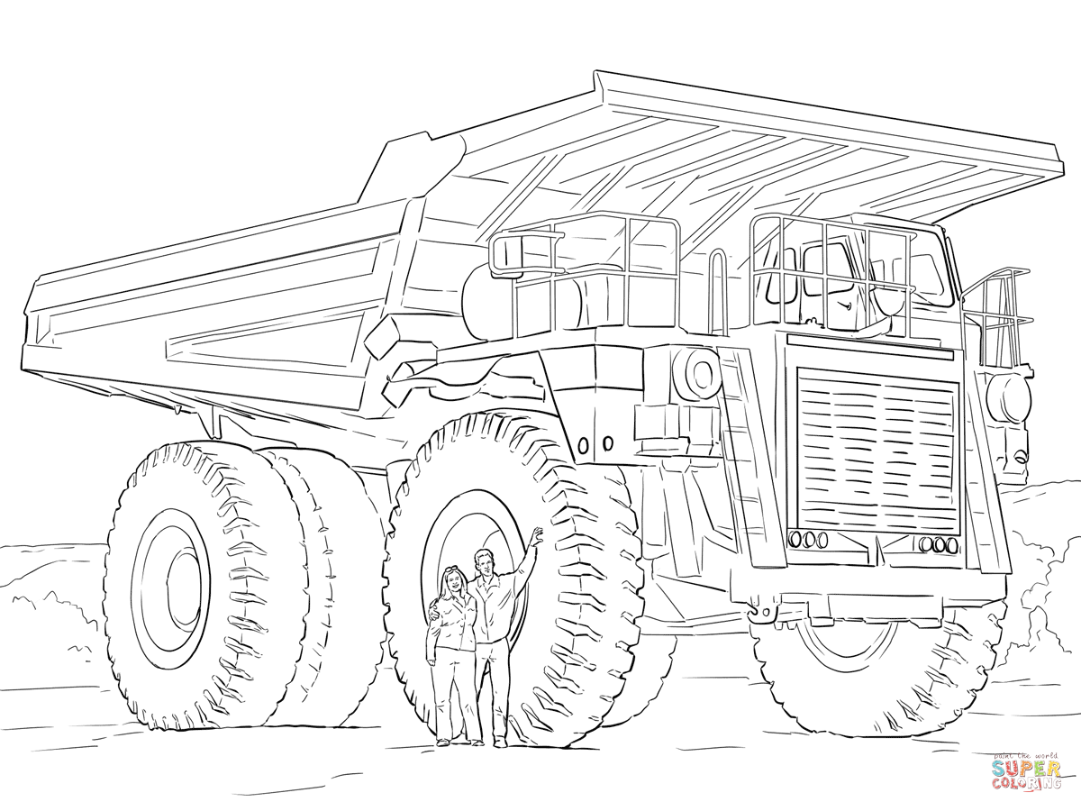 printable dump truck coloring page dump truck coloring page free printable coloring pages printable truck page dump coloring