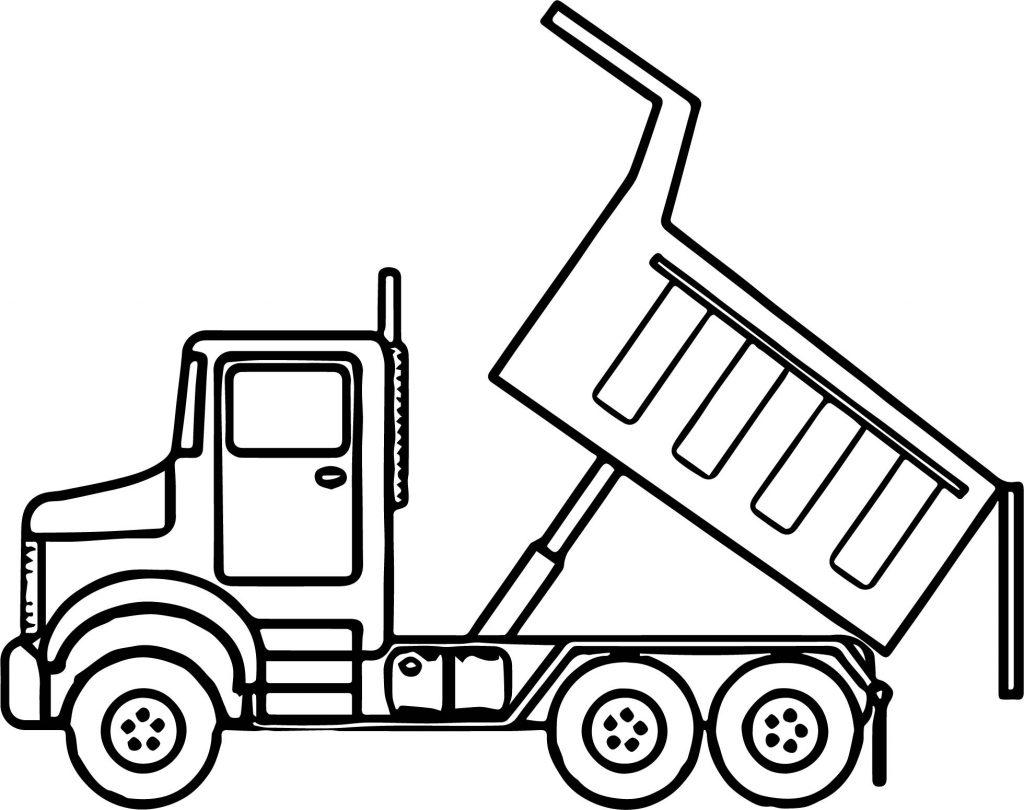 printable dump truck coloring page dump truck coloring pages coloring pages to download and truck page dump coloring printable
