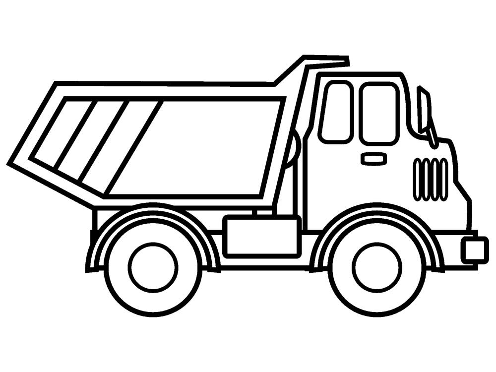printable dump truck coloring page dump truck coloring pages printable realistic coloring pages coloring dump printable page truck