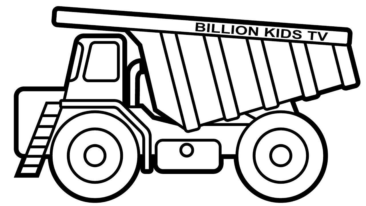 printable dump truck coloring page dump truck coloring pages to download and print for free coloring page truck dump printable