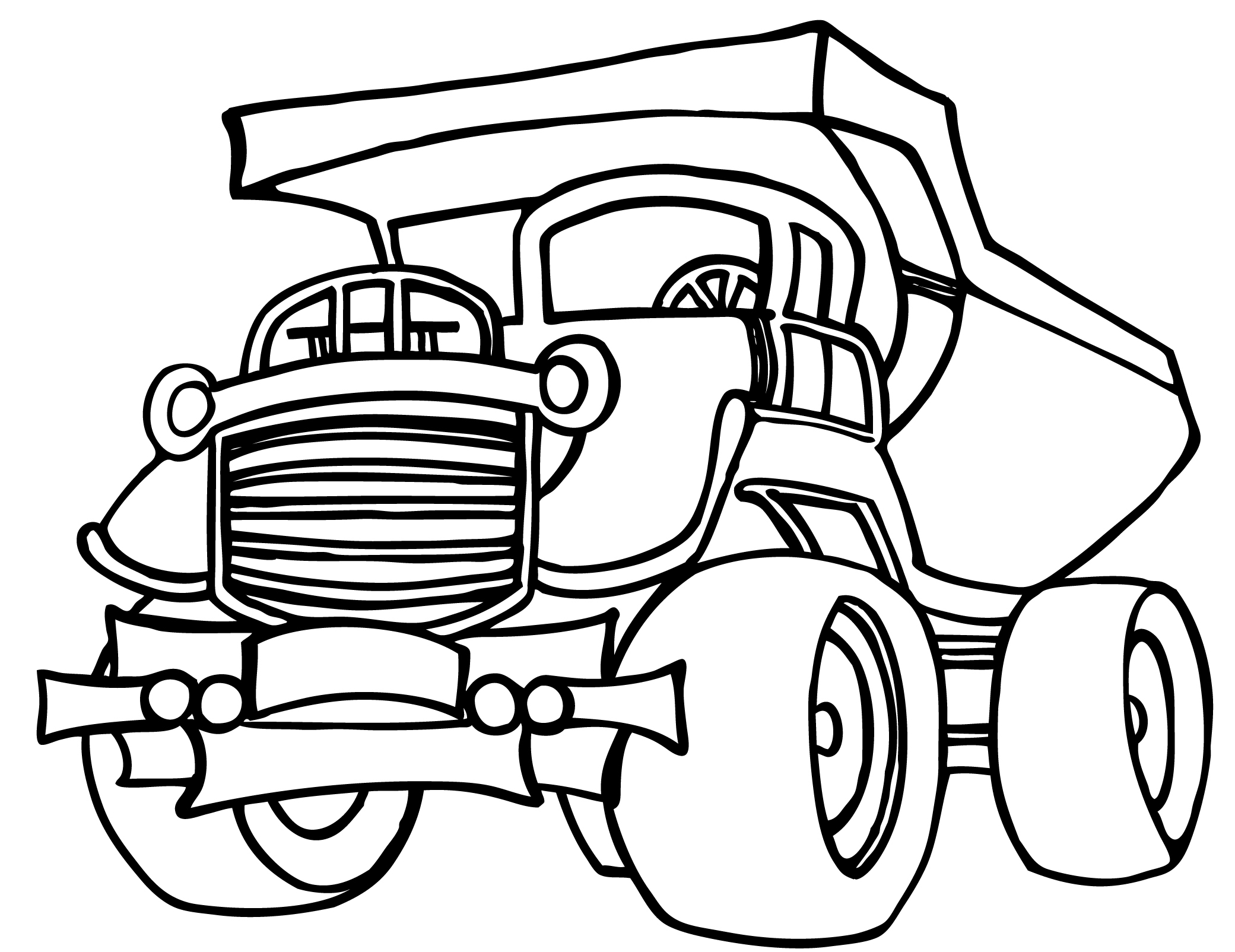 printable dump truck coloring page dump truck coloring pages to download and print for free truck coloring dump page printable