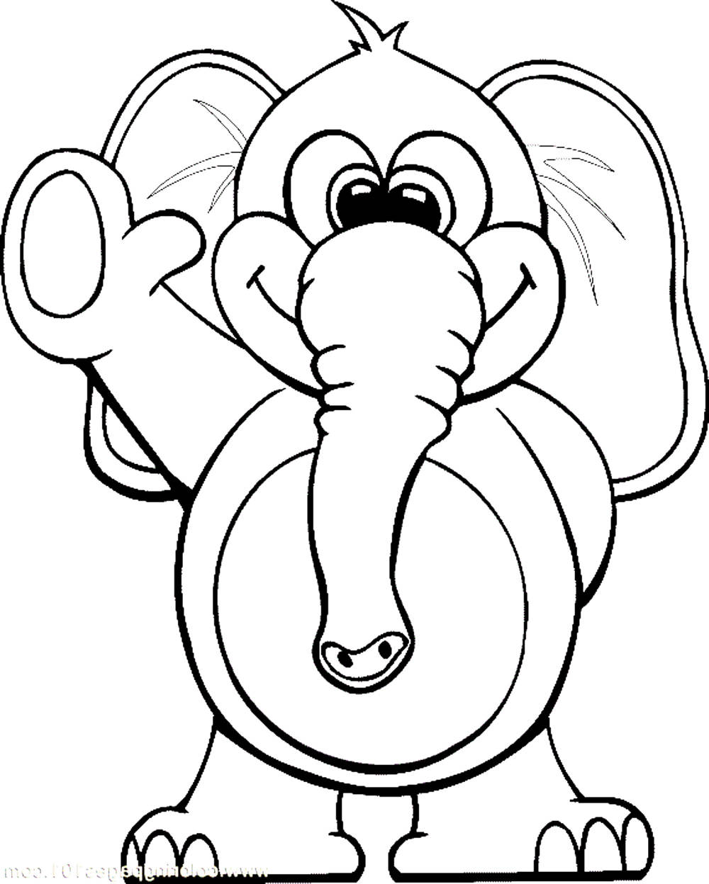 printable elephant coloring pages elephant coloring pages coloring home elephant coloring printable pages