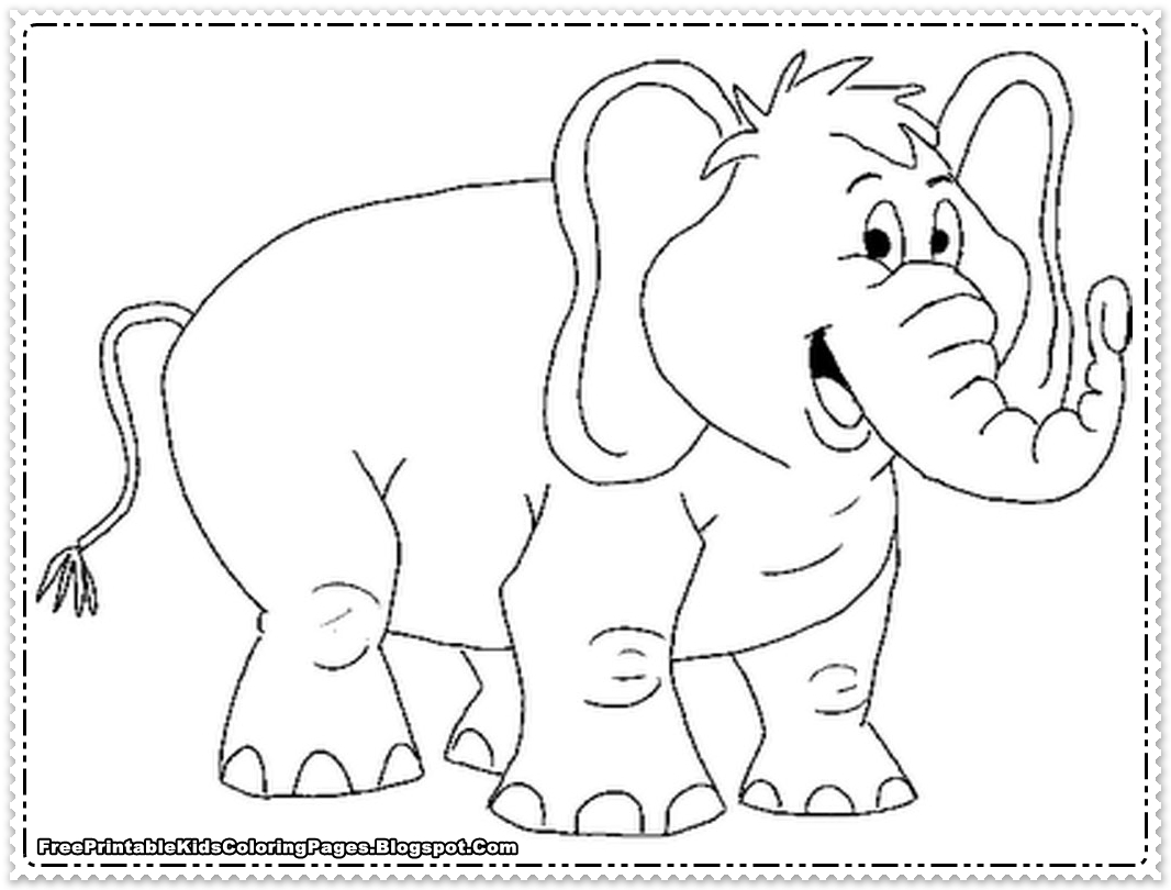 printable elephant coloring pages elephants to color for children elephants kids coloring printable pages coloring elephant