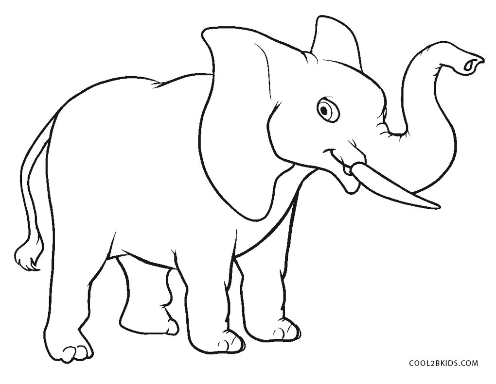 printable elephant coloring pages free elephant coloring pages coloring printable elephant pages