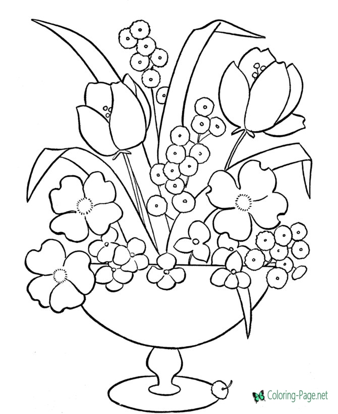 printable flowers coloring pages free roses printable adult coloring page the graphics fairy pages coloring printable flowers