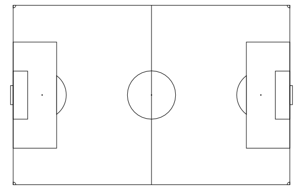printable football field how to draw a football field step by step sports pop printable football field