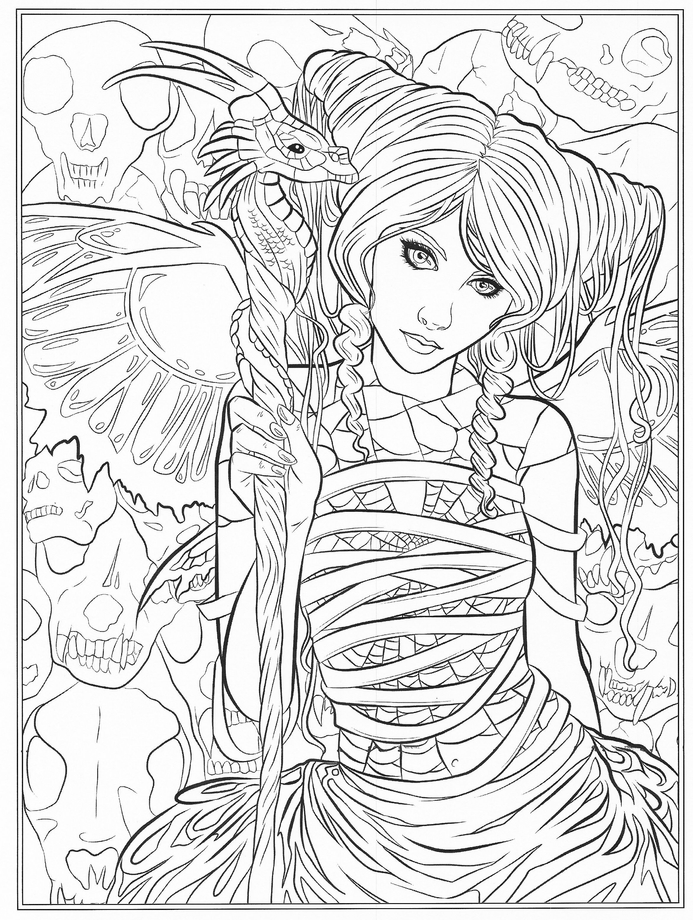 printable gothic fairy coloring pages free gothic fairy coloring pages printable gothic coloring fairy pages