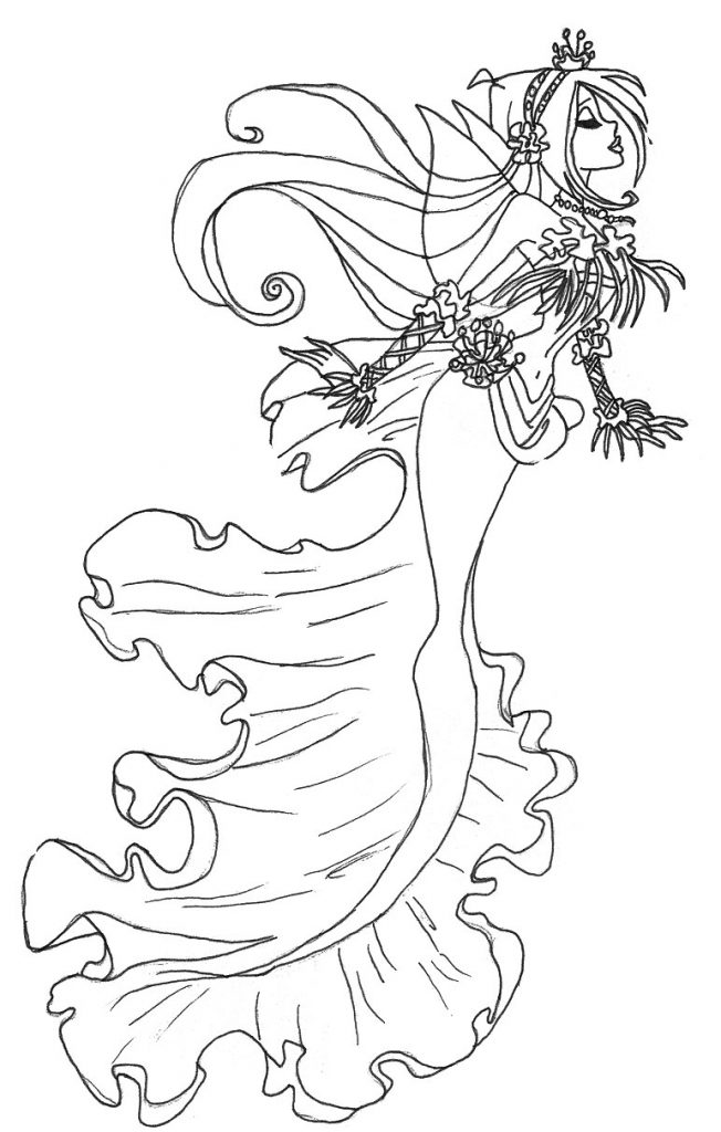 printable gothic fairy coloring pages free printable coloring pages for adults dark fairies coloring gothic fairy pages printable