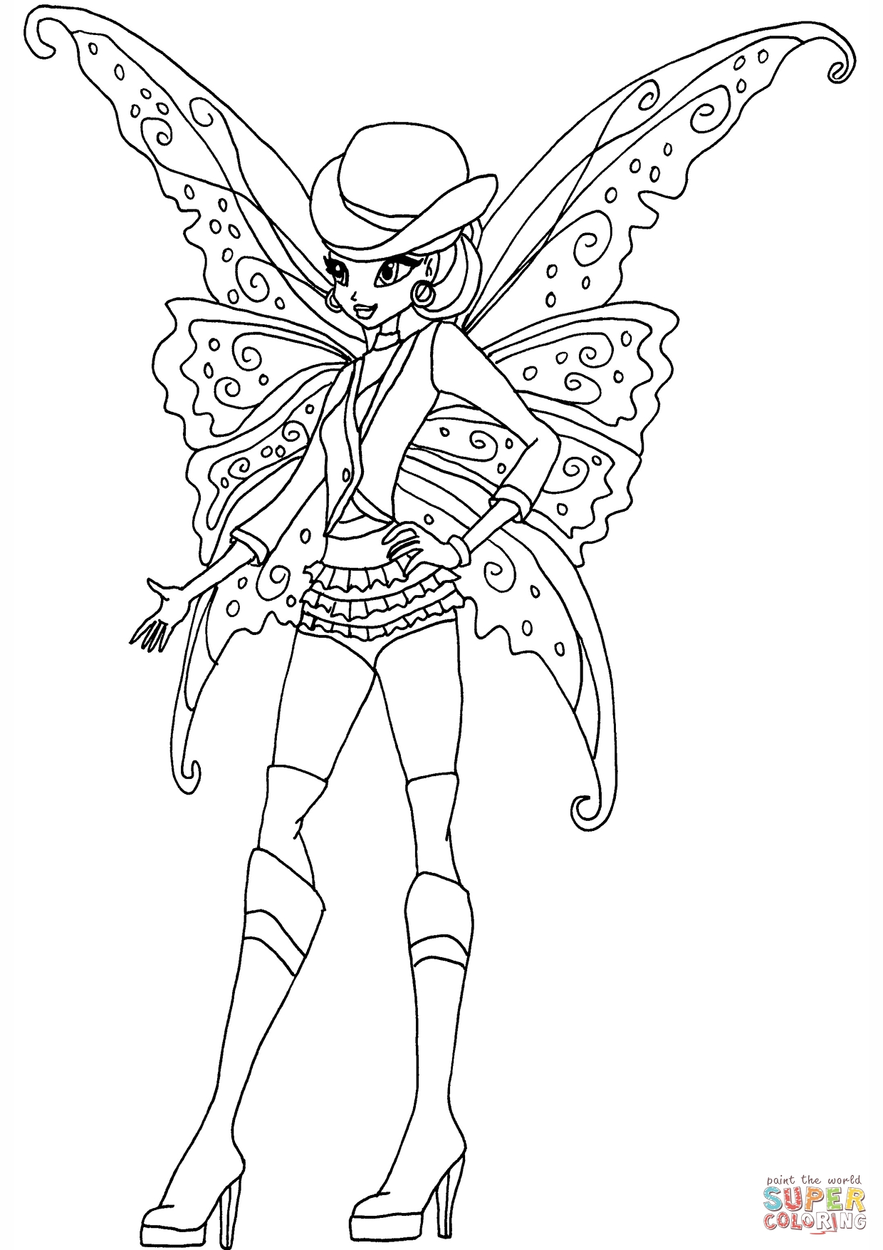 printable gothic fairy coloring pages gothic flora coloring page free printable coloring pages gothic fairy coloring printable pages