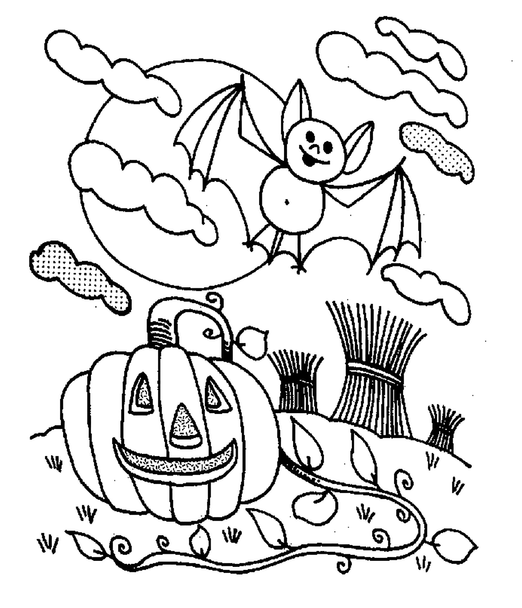 printable halloween coloring pages halloween coloring pages for kids 100 pictures print coloring halloween printable pages