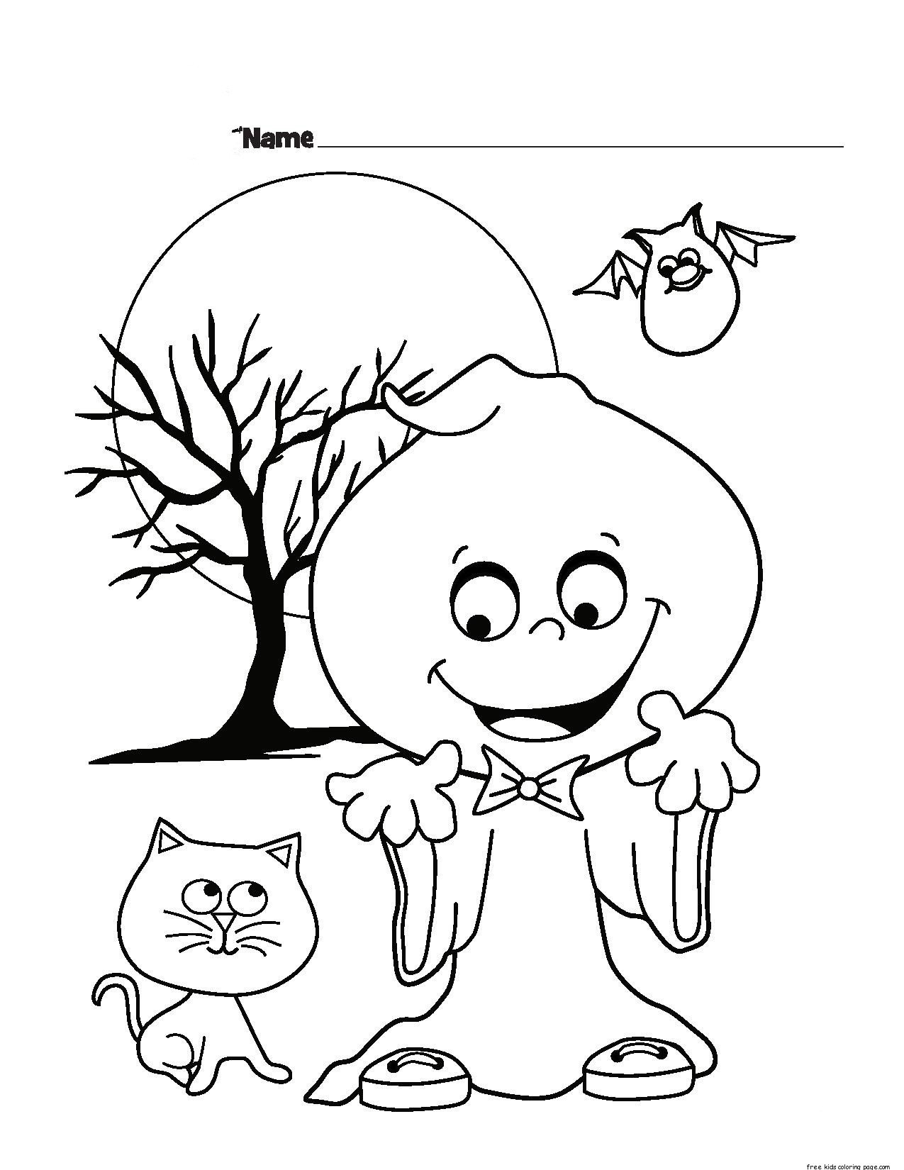 printable halloween coloring pages halloween ghost printable coloring pages for kidsfree pages halloween coloring printable