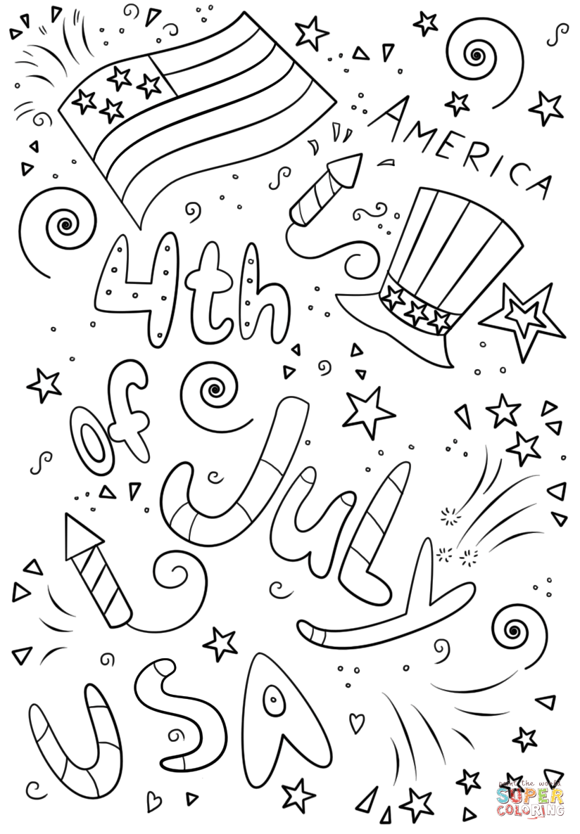 printable july coloring pages free printable 4th of july coloring pages july coloring printable pages