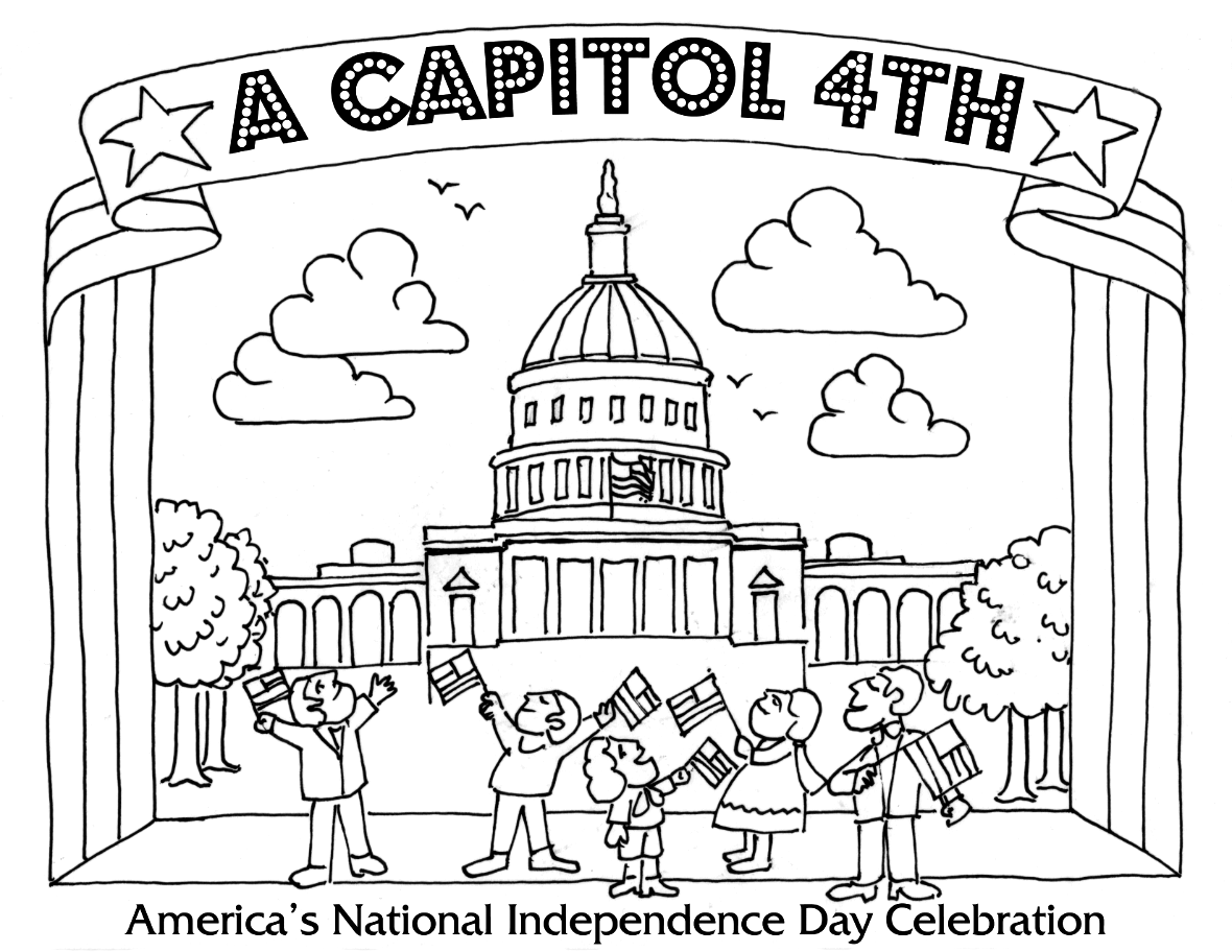 printable july coloring pages july 4th coloring page coloring home coloring july printable pages