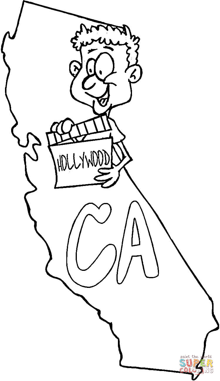 printable map of california for kids inkspired musings what poland and california have in common of printable kids map for california