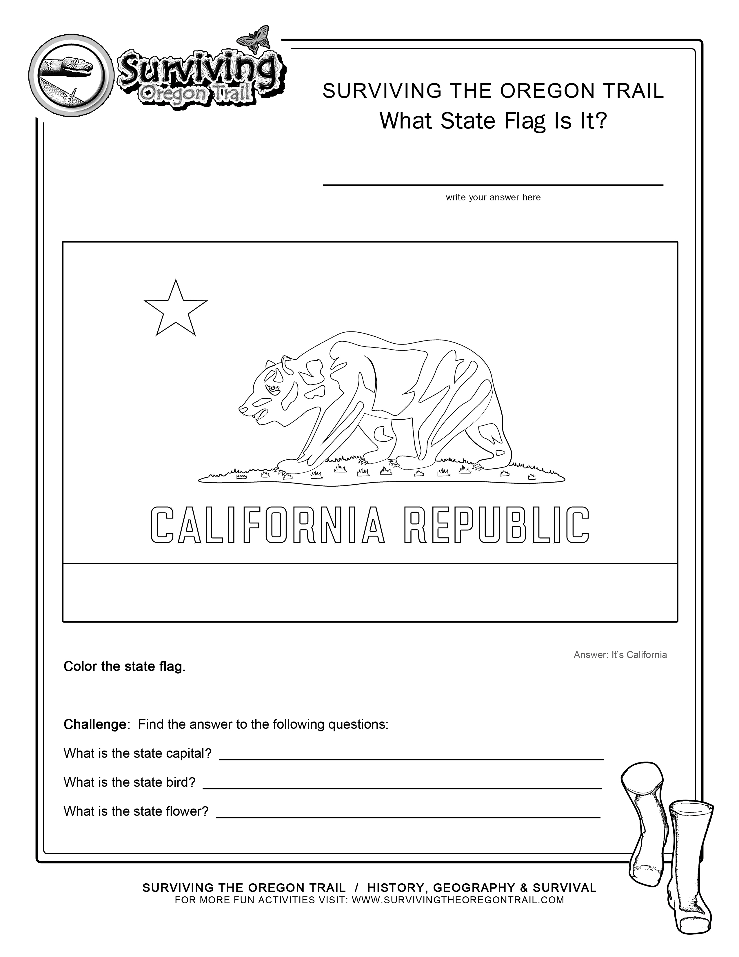 printable map of california for kids united states state emblems printables american history map kids of for printable california