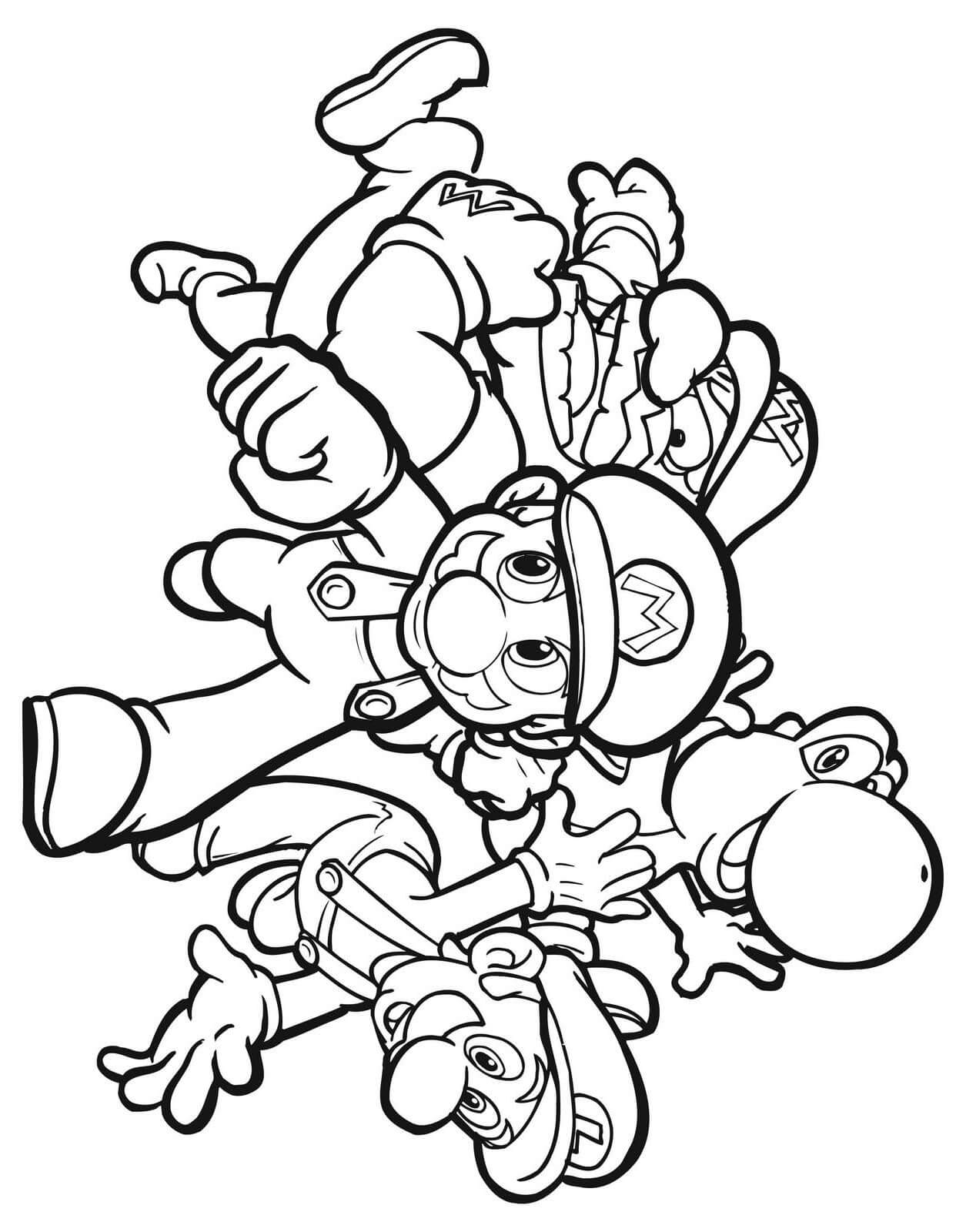 printable mario coloring pages coloring pages mario coloring pages free and printable pages mario printable coloring