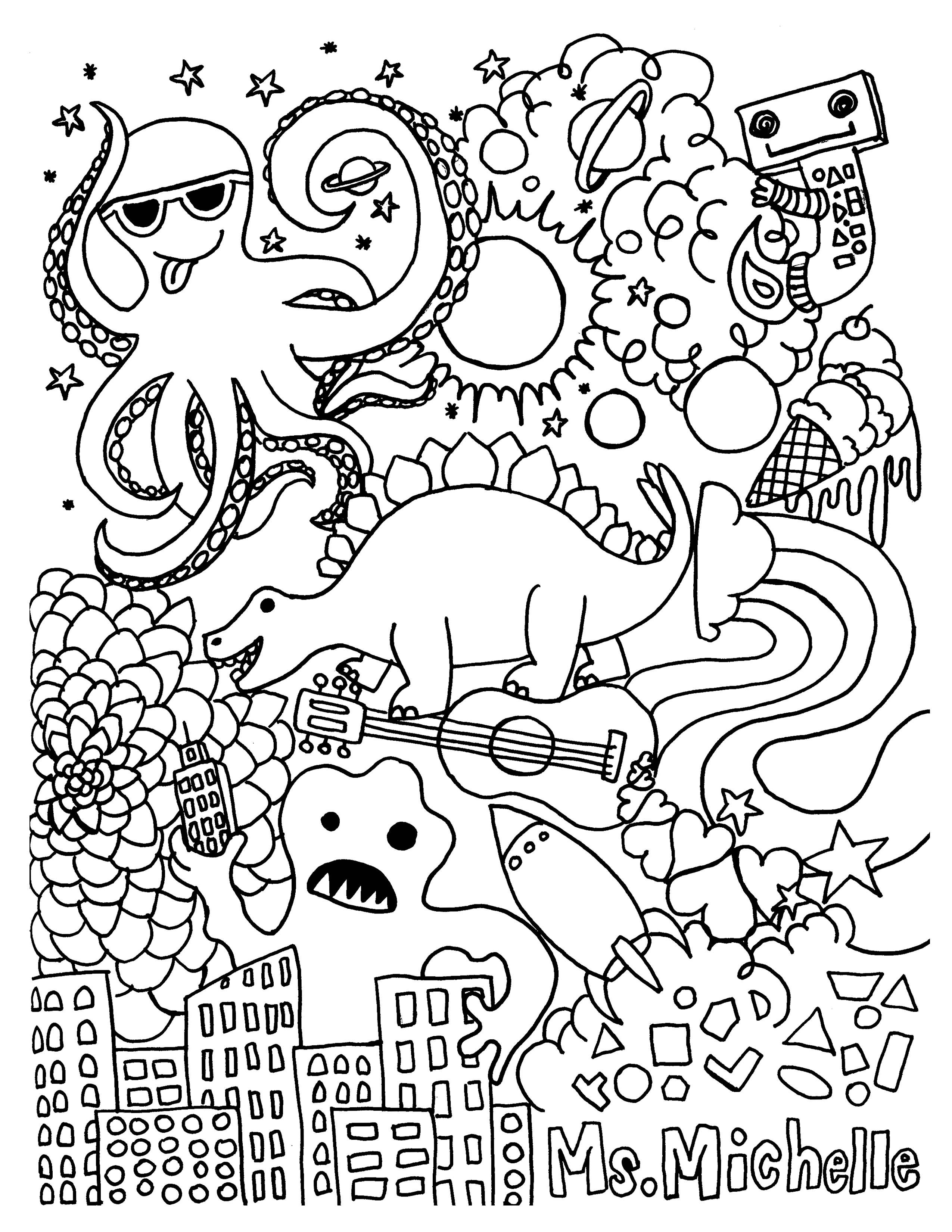printable middle school coloring pages coloring pages for middle schoolers at getdrawings free middle coloring school pages printable