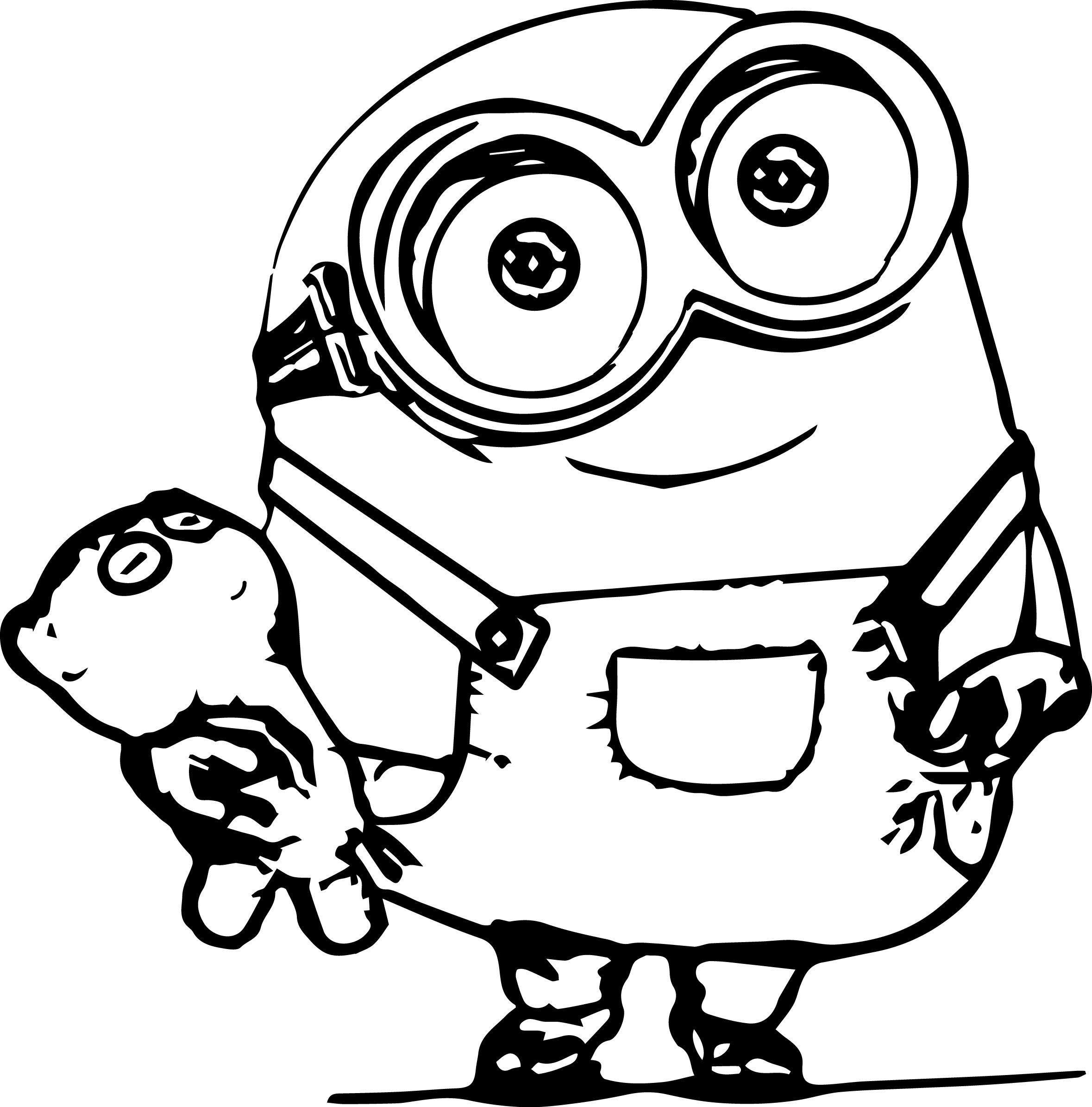 printable minions print download minion coloring pages for kids to have printable minions