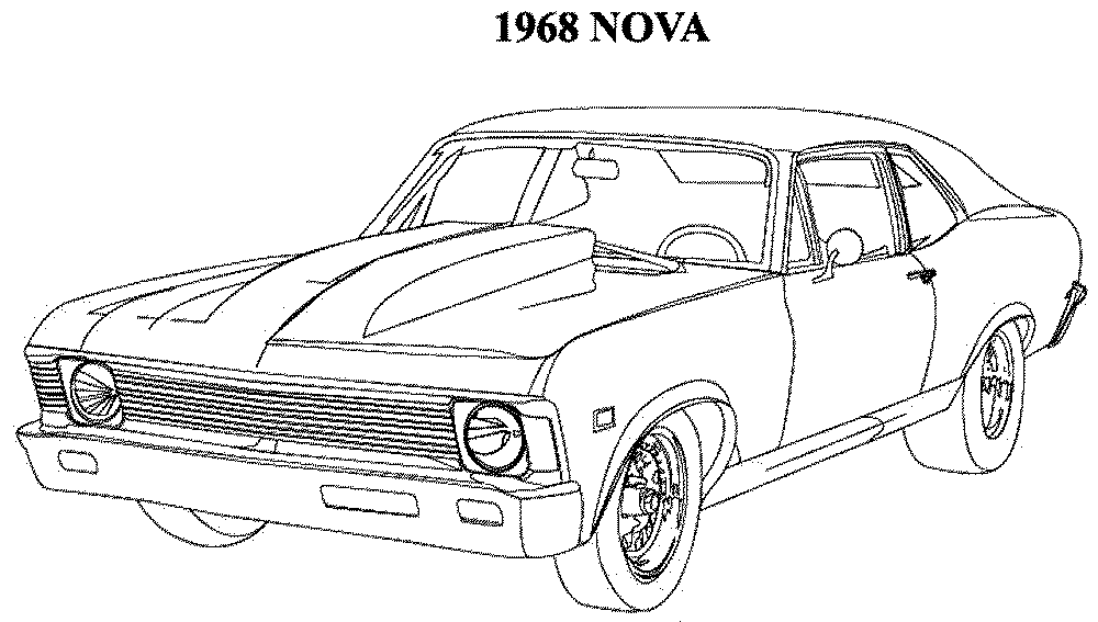 printable muscle car coloring pages muscle car coloring pages to download and print for free car pages muscle coloring printable