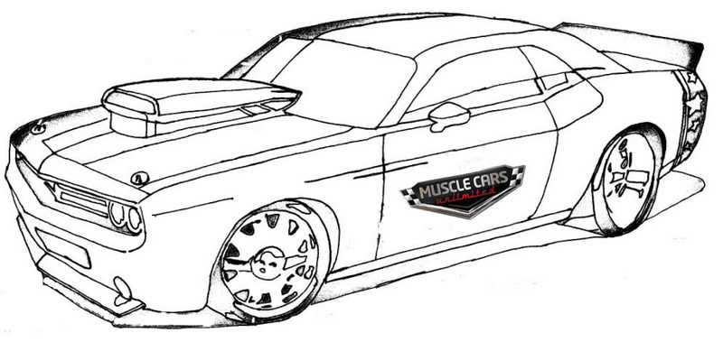printable muscle car coloring pages muscle car coloring pages to download and print for free printable car muscle coloring pages