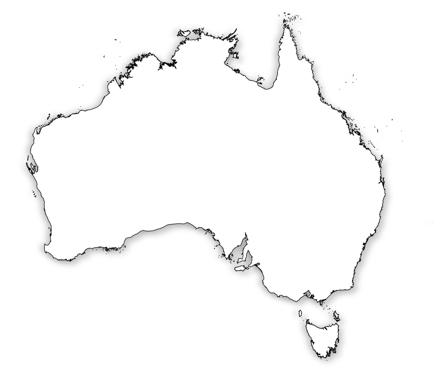 printable pictures of australia outline map of australia hd printable of pictures australia