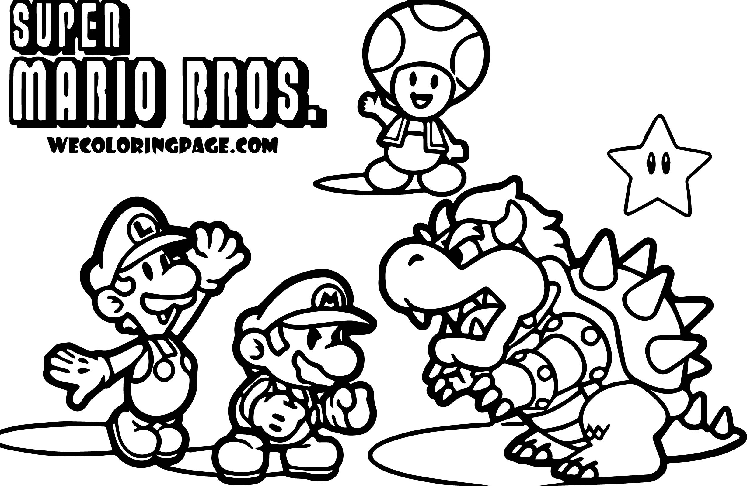 printable pictures of mario characters coloring sheets printable free printable coloring pages characters mario printable pictures of