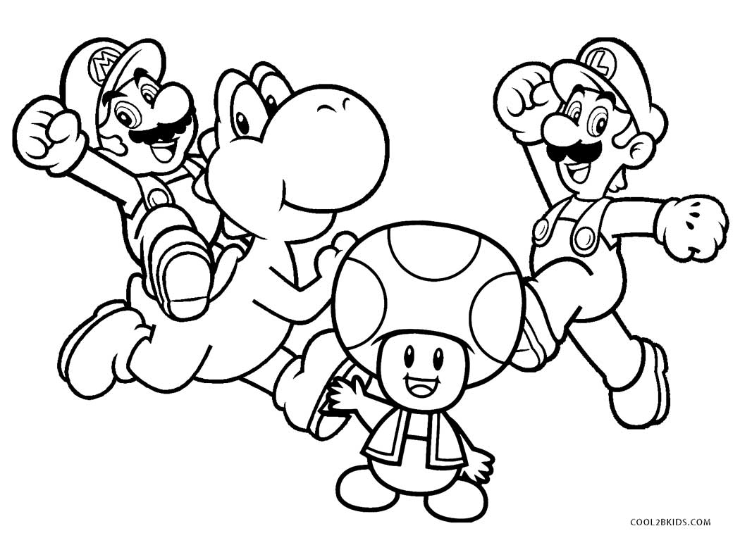 printable pictures of mario characters free printable mario coloring pages bestappsforkidscom of mario printable pictures characters