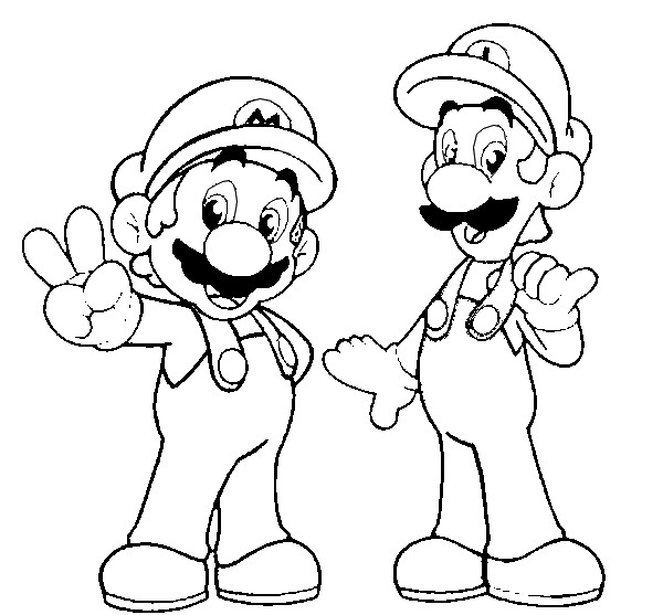 printable pictures of mario characters mario character coloring pages print coloring home printable of mario characters pictures