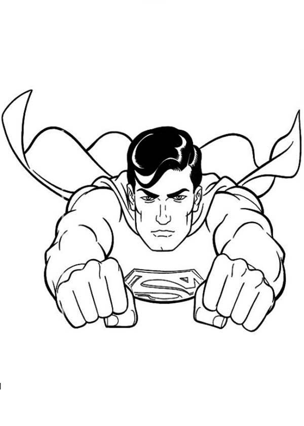 printable superman coloring pages superman color page coloring pages for kids cartoon pages coloring printable superman