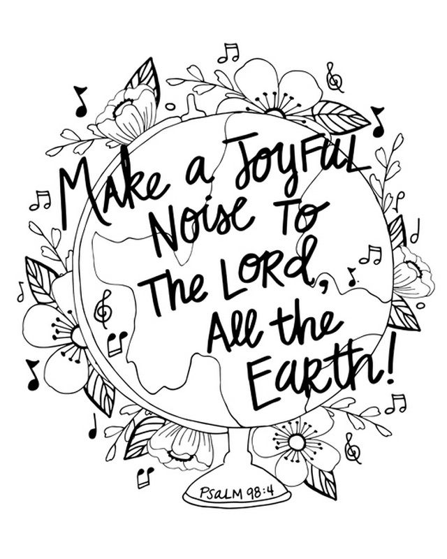 psalm 98 coloring page my cup overflows inspirational coloring pages psalm 98 coloring page