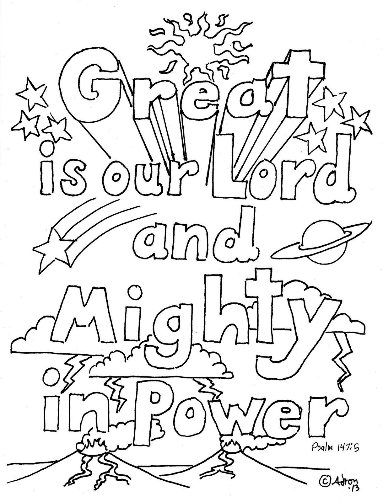 psalm 98 coloring page that means you sing and make noises to the lord from the coloring psalm 98 page