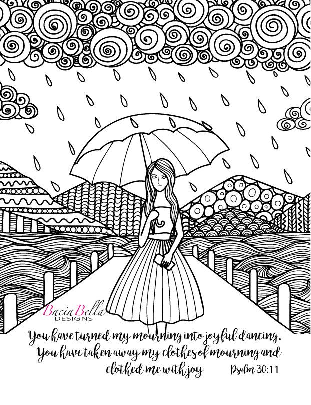 psalm 98 coloring page zen tangle umbrella psalm 3011 adult coloring page you 98 page coloring psalm