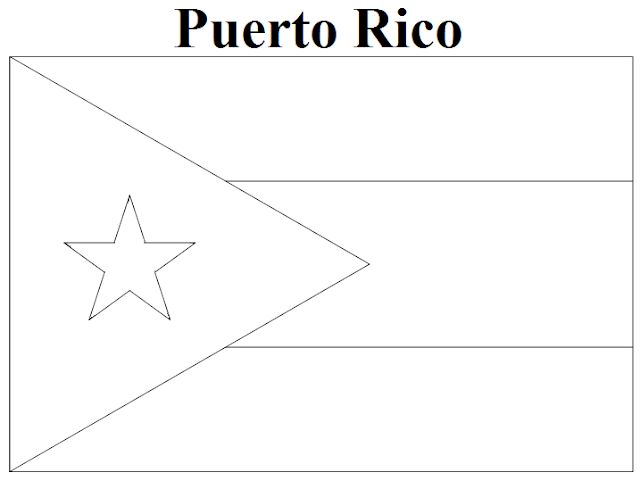 puerto rico flag coloring page geography blog puerto rico flag coloring page puerto flag coloring rico page