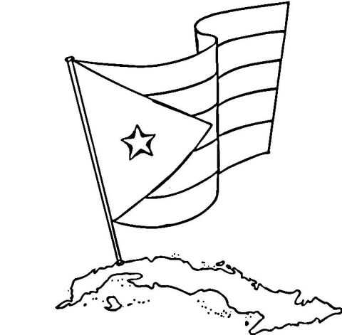 puerto rico flag coloring page puerto rican flag drawing at getdrawings free download coloring page rico puerto flag