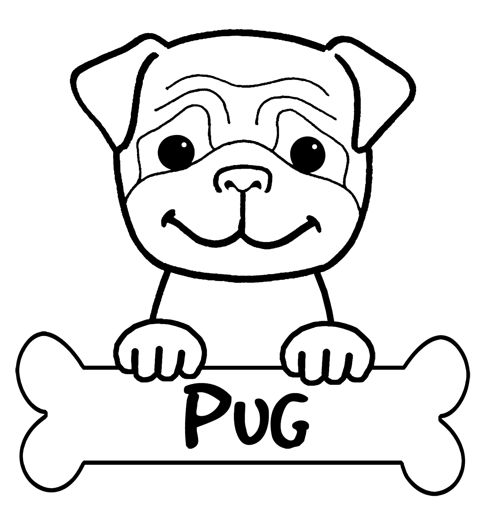 pug coloring pages pug coloring pages to download and print for free pages pug coloring