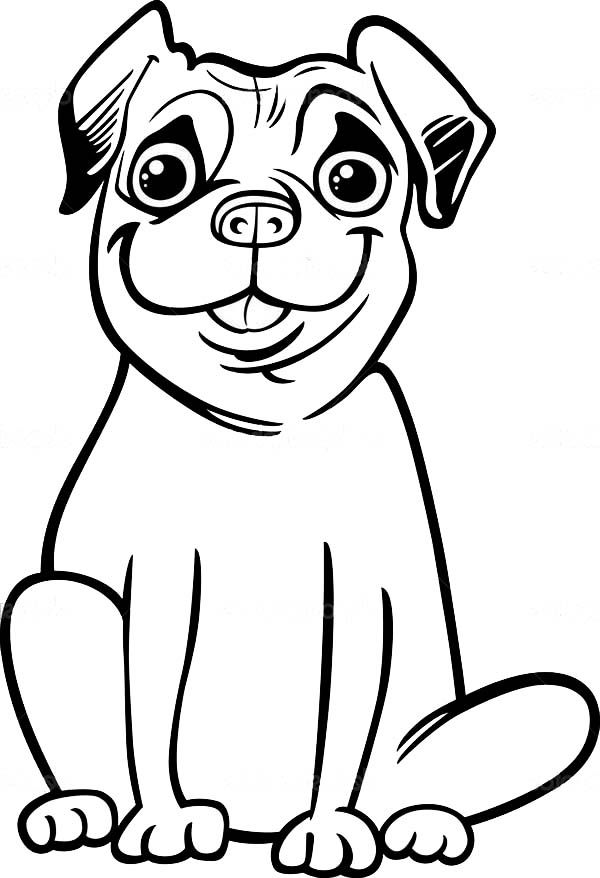 pug puppy coloring pages printable pug coloring pages coloring home coloring pug puppy pages