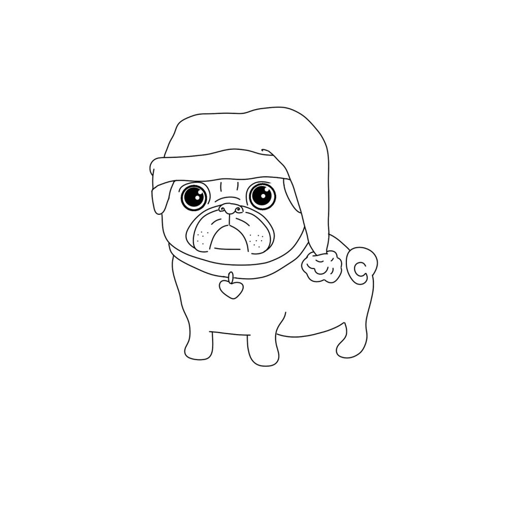 pug puppy coloring pages pug coloring pages best coloring pages for kids pages coloring pug puppy