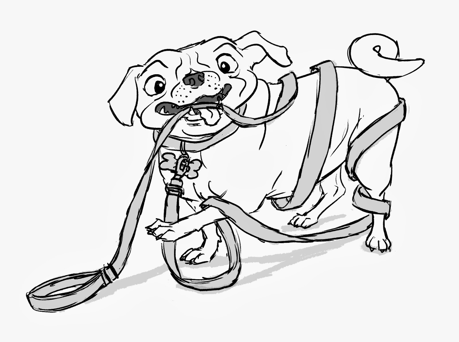 pug puppy coloring pages pug line drawing at getdrawings free download coloring puppy pug pages