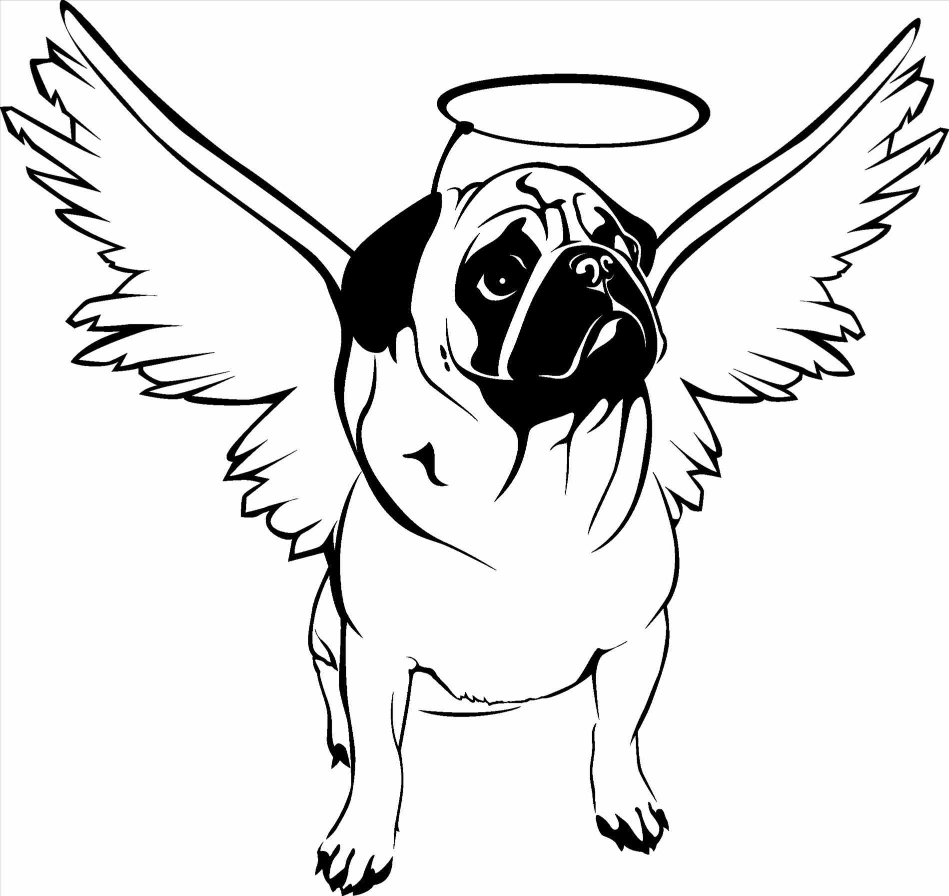 pug puppy coloring pages pug puppy drawing at getdrawings free download coloring pages puppy pug